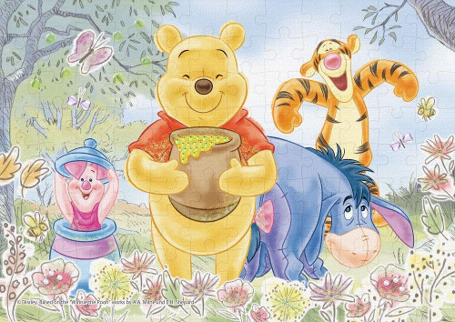 Epoch Jigsaw Puzzle Decoration 72-010 Disney Winnie the Pooh Sweet Flower (108 Pieces)