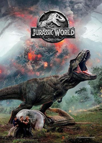 Epoch Jigsaw Puzzle 06-105s Jurassic World Fallen Kingdom (500 Pieces)