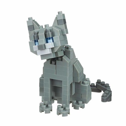 Kawada NBC-266 nanoblock Cat Breed Russian Blue