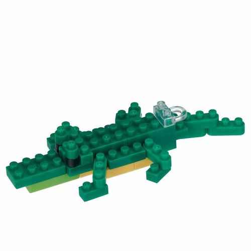Kawada NBS-006 nanoblock Mini Animal Crocodile
