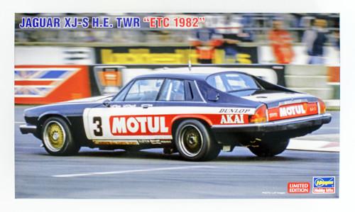 Hasegawa 20362 Jaguar XJ-S H.E. Twr 'ETC 1982' 1/24 Scale kit