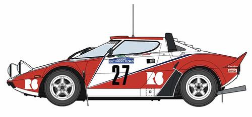 Hasegawa 20361 Lancia Stratos HF '1982 Targa Florio Rally 1/24 scale kit
