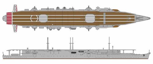 Hasegawa 30055 IJN Aircraft Carrier Shoho 'Hyper Detail' 1/700 scale kit