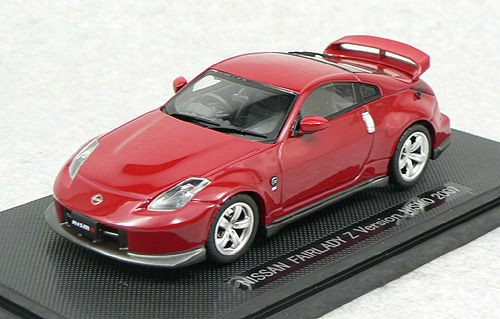 Ebbro 43959 NISSAN FAIRLADY Z NISMO 2007 Red 1/43 Scale