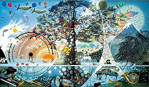 APPLEONE Jigsaw Puzzle 1000-829 Seiji Fujishiro Seimei Sanka Life's Anthem (1000 Pieces)