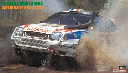 Hasegawa 20371 Toyota Corolla WRC 'Safari Rally Kenya 1998' 1/24 scale kit
