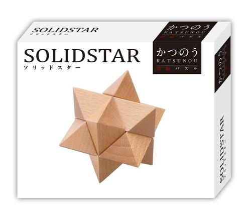 Hanayama Katsunou Brain Teaser SOLID STAR