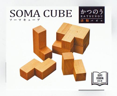 Hanayama Katsunou Brain Teaser SOMA CUBE