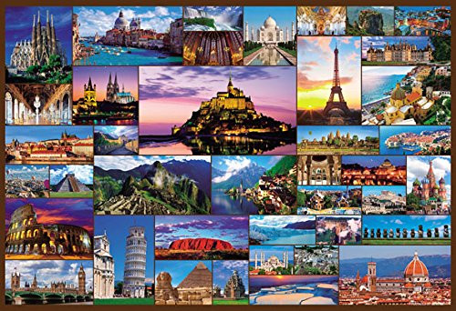 Beverly Jigsaw Puzzle M81-563 World Heritage Site Selection 40 (1000 S-Pieces)