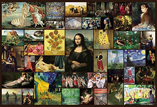 Beverly Jigsaw Puzzle M81-562 Famous Painting Selection 40 (1000 S-Pieces)