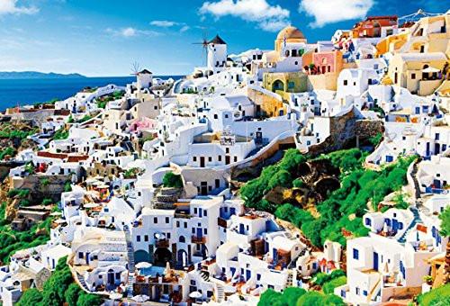 Beverly Jigsaw Puzzle S62-520 Santorini Aegean Sea Greece (2000 S-Pieces)