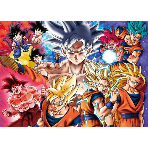 Ensky Jigsaw Puzzle 500-330 Dragon Ball Super Evolution (500 Pieces)