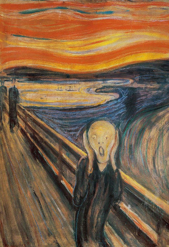 Epoch Jigsaw Puzzle 25-169 Edvard Munch The Scream (300 Pieces)