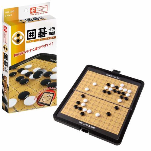 Hanayama Go (Igo) Game 13 x 13 Board Portable Standard Made in Japan