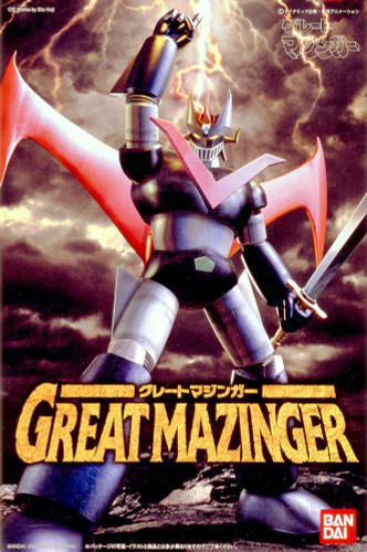 Bandai 581037 Great Mazinger Plastic Model Kit