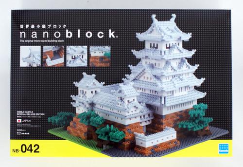 Kawada NB-042 nanoblock Himeji Castle Special Deluxe Edition