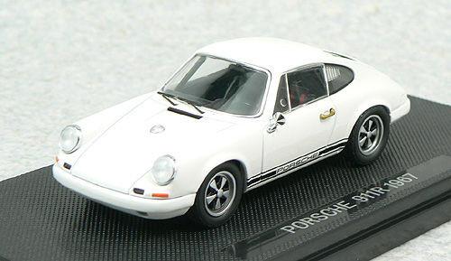 Ebbro 44010 PORSCHE 911R 1967 White 1/43 Scale