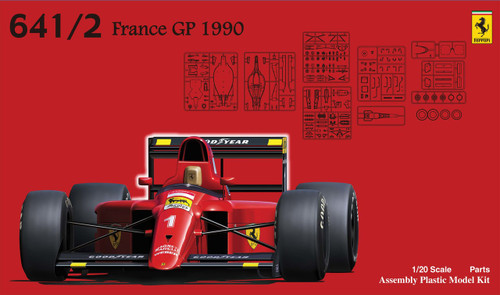 Fujimi GP26 Ferrari 641/2 (Mexico GP/France GP) 1/20 Scale kit