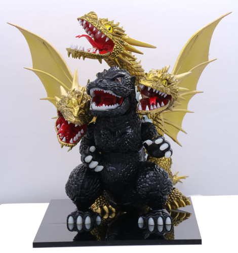 Fujimi 170749 Chibi-maru Godzilla VS King Ghidorah Confrontation Set Non-scale kit