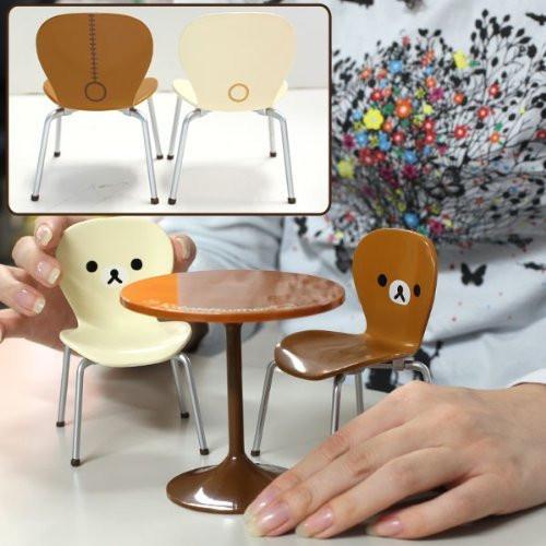 Re-ment 170084 Rilakkuma Cafe Table Set