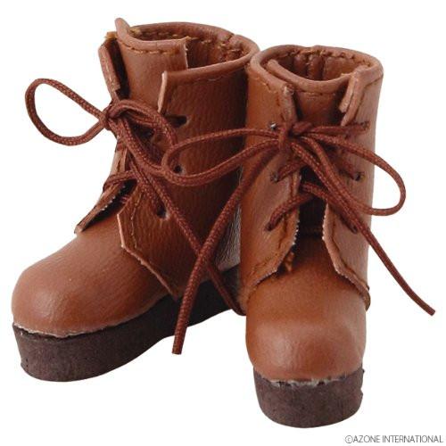 Azone AKT090-CML Pure Neemo Pukkuri Short Boots Camel