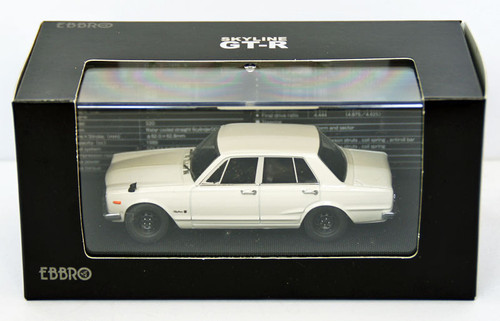 Ebbro 44023 Nissan Skyline GT-R PGC10 (White) 1/43 Scale