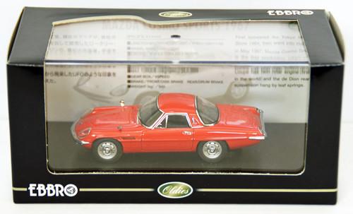 Ebbro 44028 Mazda Cosmo Sports 1967 (Red) 1/43 Scale