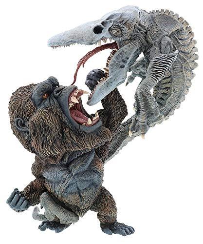 XPlus DefoReal Series Kong vs Skullcrawler Figure (King Kong Skull Island)