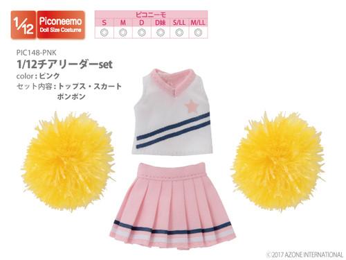 Azone PIC148-PNK 1/12 Picco Neemo Cheerleader Set Pink