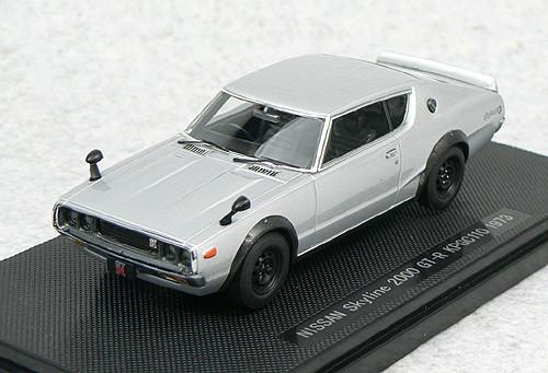 Ebbro 44073 NISSAN SKYLINE GT-R KPGC110 Silver 1/43 Scale