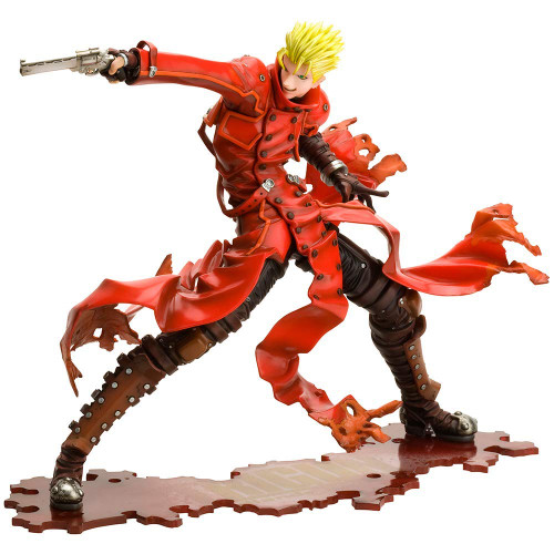 Kotobukiya ARTFX J PP815 Vash the Stampede Renewal Package Ver. 1/8 Scale Figure (Trigun Badlands Rumble)