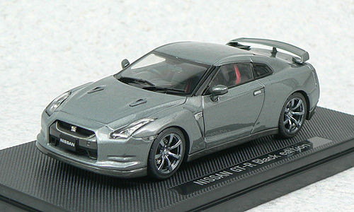 Ebbro 44102 NISSAN GT-R R35 Black Edition Gray 1/43 Scale