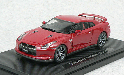 Ebbro 44103 NISSAN GT-R R35 Black Edition Red 1/43 Scale