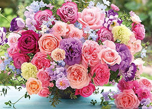 Beverly Jigsaw Puzzle 66-107 Pink Blooming Roses (600 Pieces)