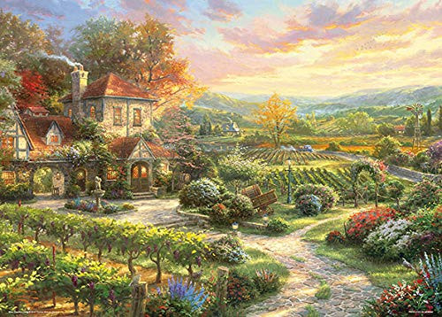 Beverly Jigsaw Puzzle 66-104 Thomas Kinkade Wine Country (600 Pieces)