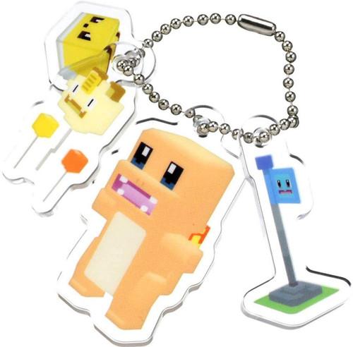 Takara Tomy Pokemon Quest Pokexel Acrylic Mascot Charmander Hitokage