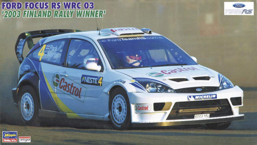 Hasegawa 20380 Ford Focus RS WRC03 2003 Finland Rally Winner 1/24 Scale kit