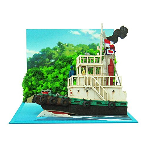 Sankei MP07-76 Studio Ghibli Scenery from Tugboat From Up On Poppy Hill NonScale
