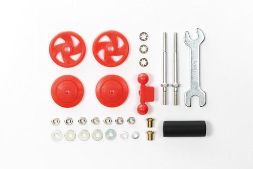 Tamiya Mini 4WD 95402 Large Diameter Stabilizer Head Set (17mm) Red