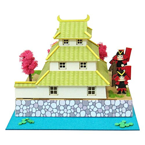 Sankei MP05-19 Castle and Armor Non-Scale Miniature Art Paper Kits