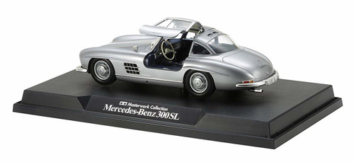 Tamiya 21151 Mercedes-Benz 300SL (Silver) Masterwork Collection 1/24 Scale Finished Model