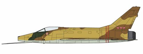 Hasegawa 64772 Area-88 F-100D Super Sabre Mickey Simon 1/72 Scale kit