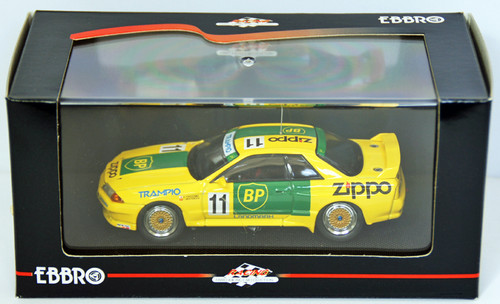 Ebbro 44156 BP Trampio Skyline Gr.A 1993 (Yellow) 1/43 Scale