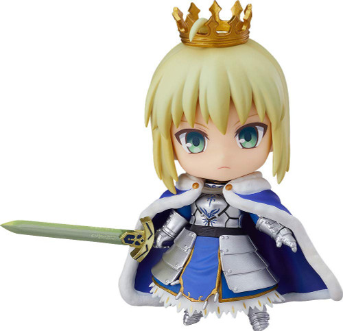 Good Smile Nendoroid 600b Saber / Altria Pendragon: True Name Revealed Ver. (Fate/Grand Order)