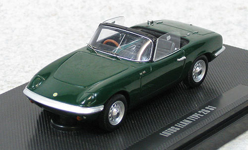 Ebbro 44163 Lotus Elan S1 TYPE 26 (Green) 1/43 Scale