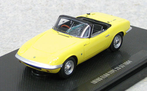 Ebbro 44164 Lotus Elan S2 TYPE 26 (Yellow) 1/43 Scale