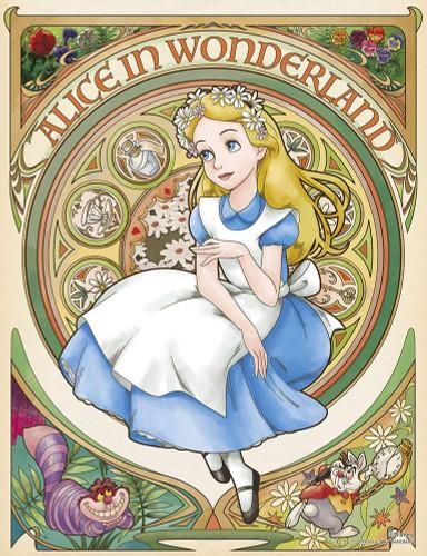 Yanoman Jigsaw Puzzle 42-53 Disney Reverie Alice in Wonderland (300 Small Pieces)