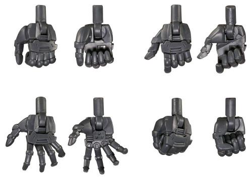 Kotobukiya MSG Modeling Support Goods MB50 Hand Unit Round Finger Hand Neo