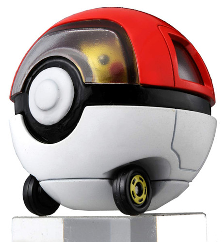 Takara Tomy Dream Tomica Ride On R10 Pikachu & Pokeball Car