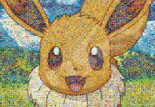Ensky Jigsaw Puzzle 500T-L20 Pokemon Eevee Mosaic Art (500 L-Pieces)